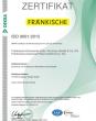 ZERTIFIKAT – ISO 9001 (de)