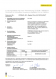 Leistungserklärung Duplex Fibre 2,2 DATALIGHT