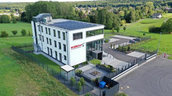 Energieeffiziente Lüftung für Roboter-Systemhaus