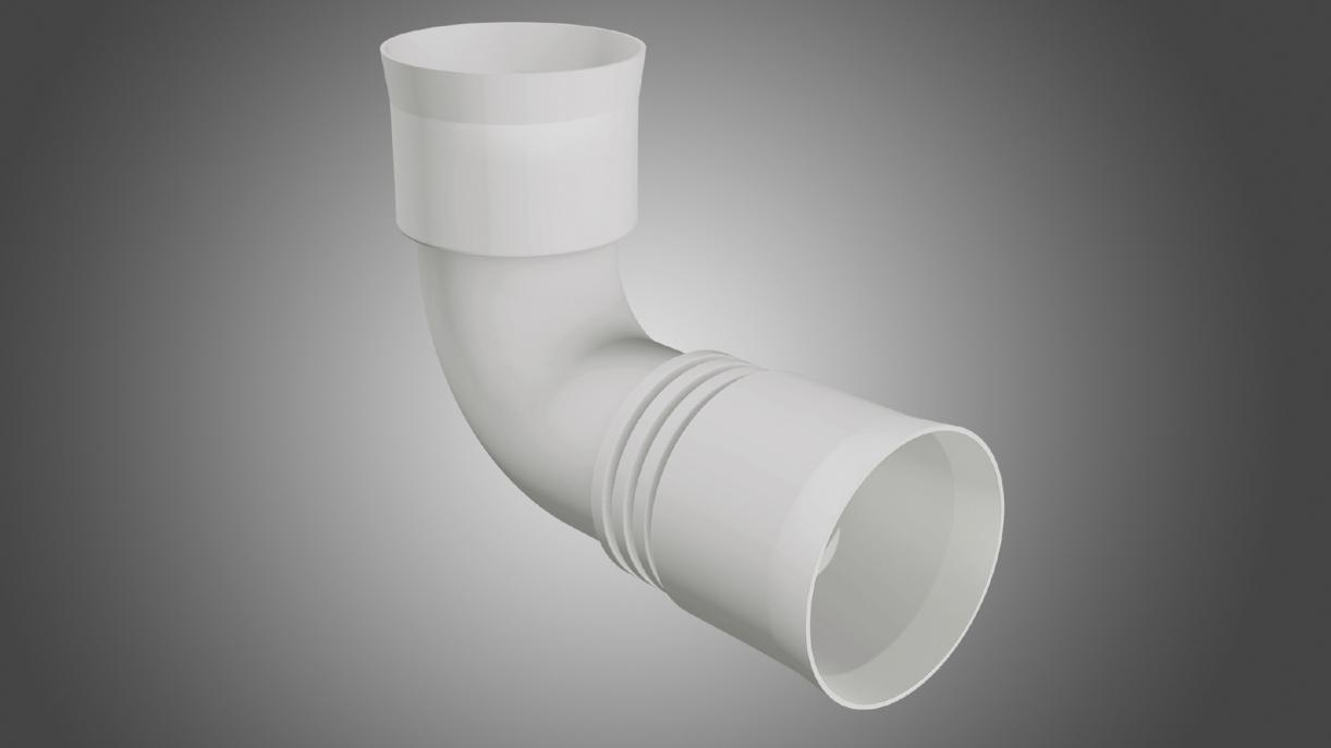 New profi-air bend for pipes and fittings