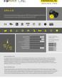 AFPA-U-M - Anschlussverschraubung Innengewinde, gerade, UNEF/UNS, Kunststoffgewinde,  MIL DTL 5015