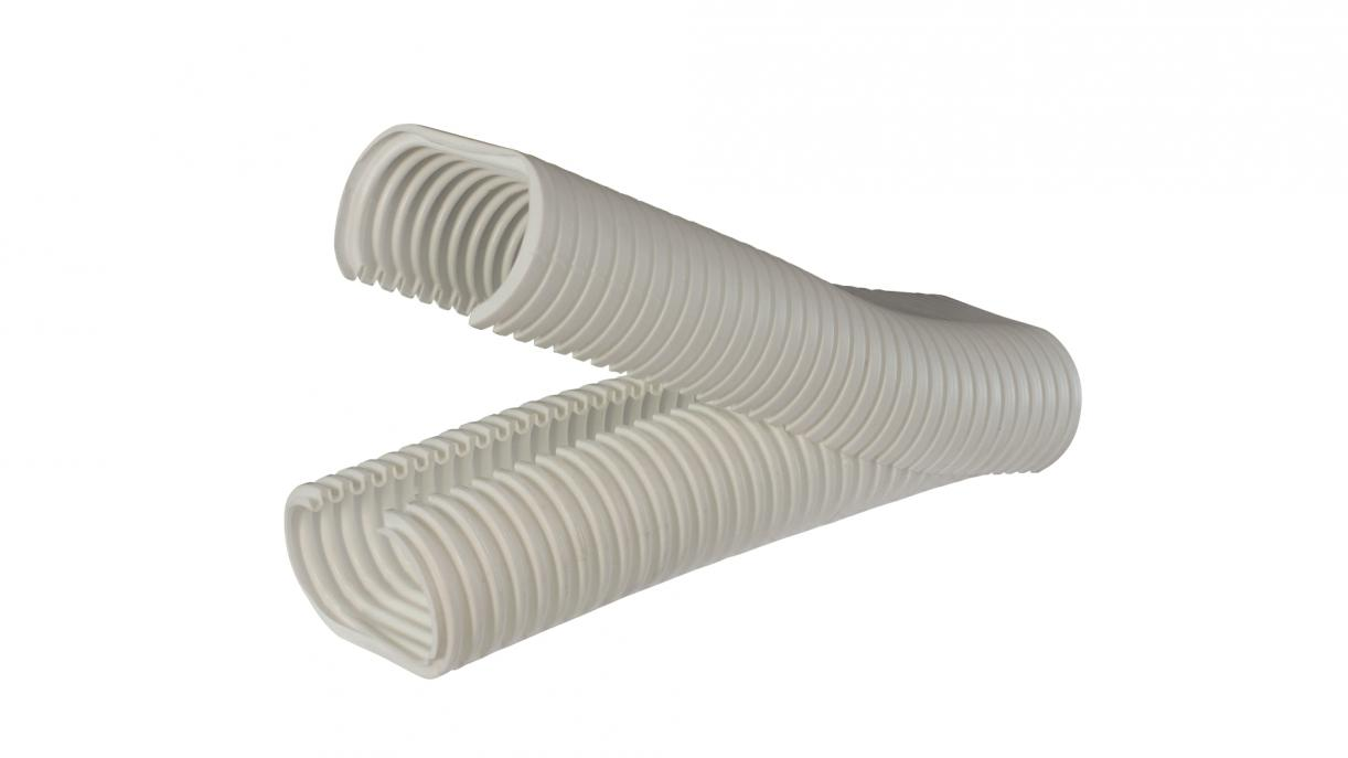 Resealable corrugated conduits