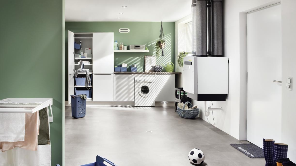 Kontrollierte Wohnraumlüftung / KWL