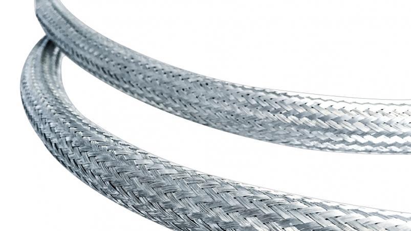 BCUTP - EMV screening braid, tin-platted copper