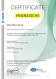 Certifikát – ISO 9001 (angličtina)