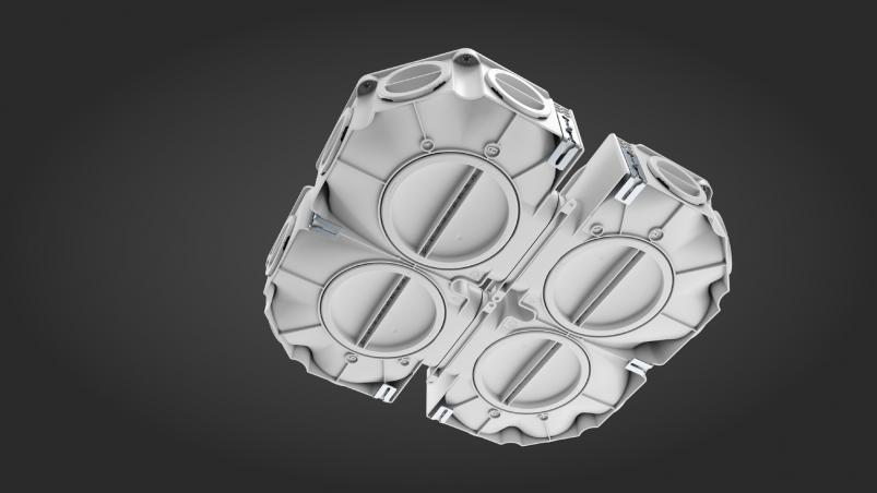 profi-air flat manifold 12-fold