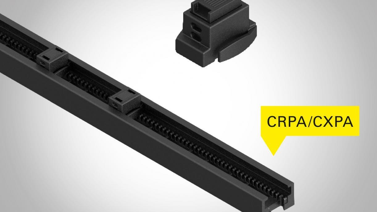 Rail de montage pour une protection de câbles efficace