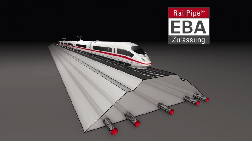 RailPipe® SN16 se schválením EBA