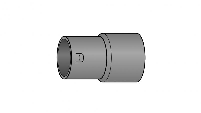 KG coupling adapter with reducer Sicku/Muri-pipe DN300