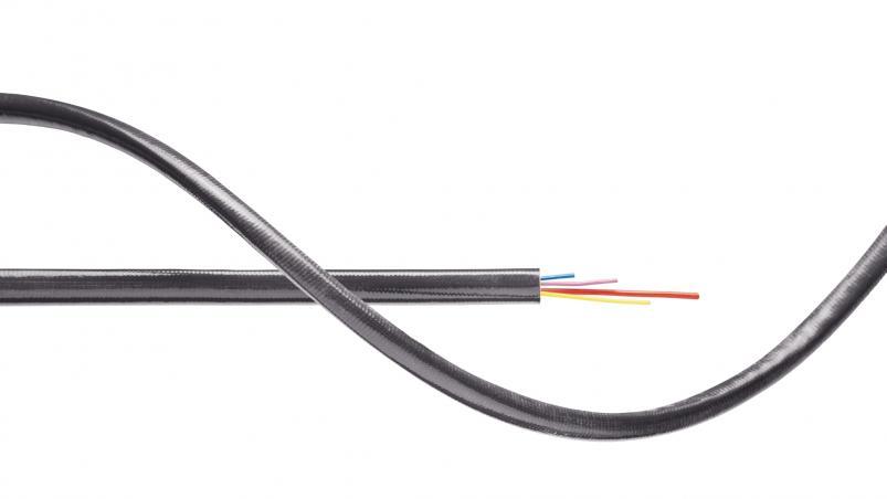 G0T – skleněná hadice se silikonovým opláštěním spodílem grafitu