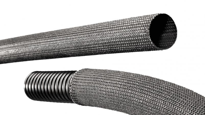 GN1 – glass fiber hose with silicone impregnation