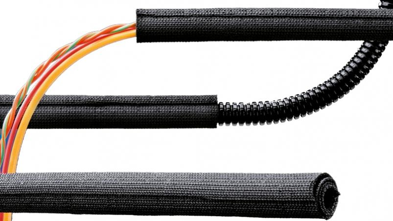 WPET-SCF - Woven hose selfclosing, high flame restistant, PET V0