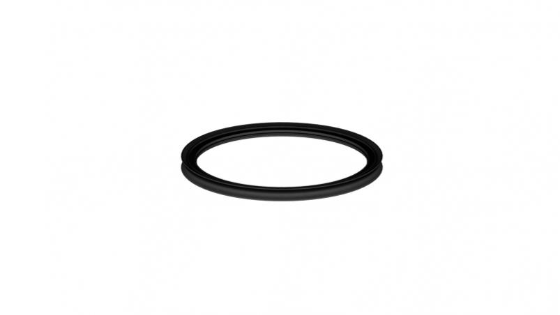 Profile sealing ring for extension pipe DO 600
