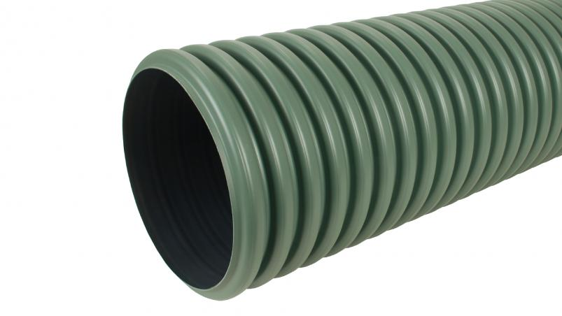 SickuPipe unperforated swale pipe