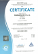 CERTIFICATE – ISO 45001 – CZ (anglais)