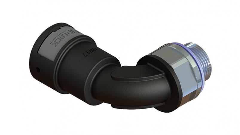 AWPA-PGM-S / AEPA-PGM-S - Anschlussverschraubung 90° drehbar, PG, Metallgewinde