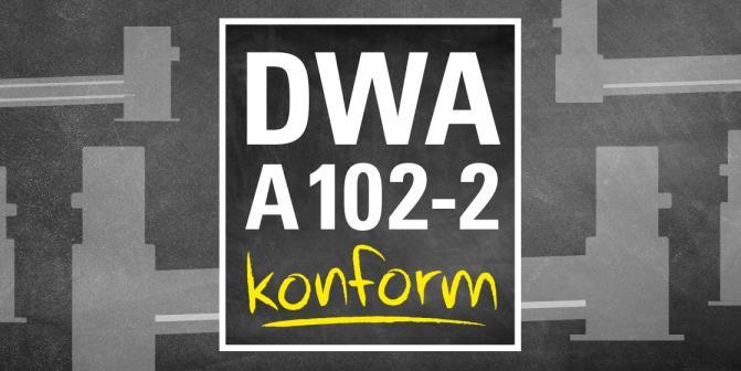 Planen Sie mit uns DWA-A 102-2 konform