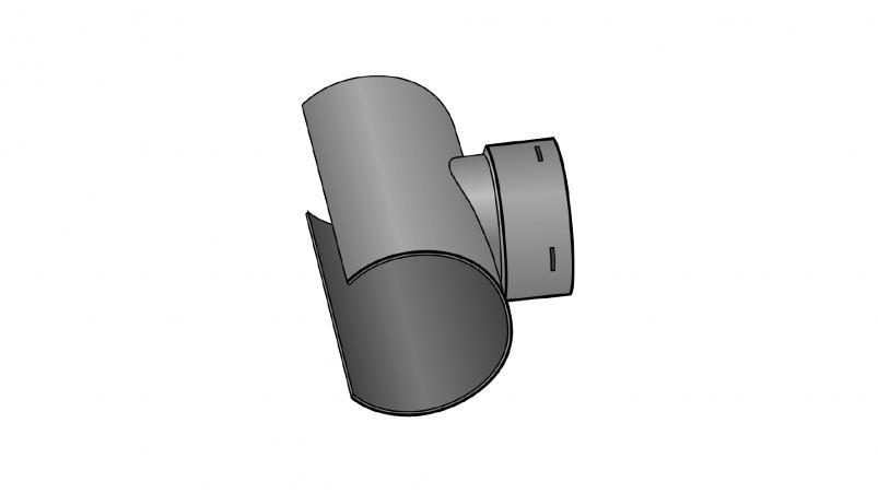 L connector FF-drän