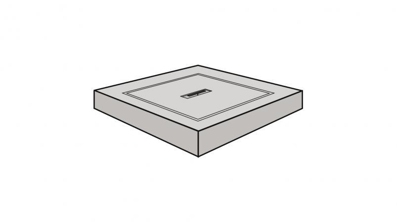 Shaft cover (concrete)