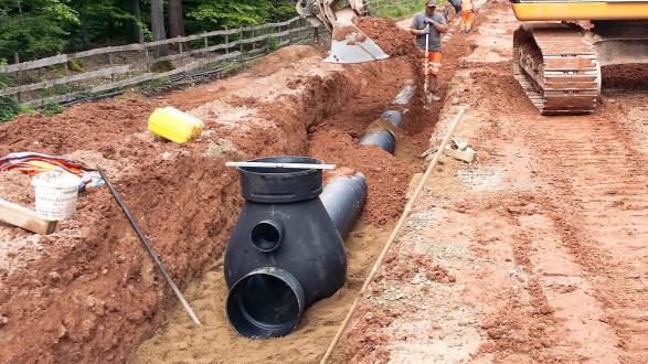 Großprojekt A3: Entwässerung von FRÄNKISCHE