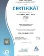 CERTIFICATE – ISO 45001 – CZ (czech)