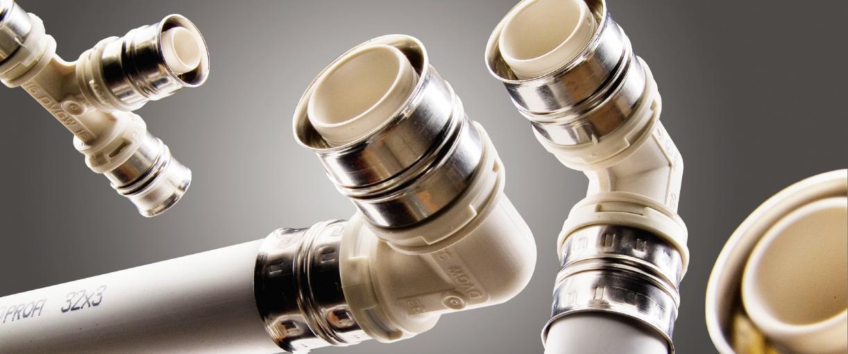alpex F50 PROFI® multilayer composite pipe system