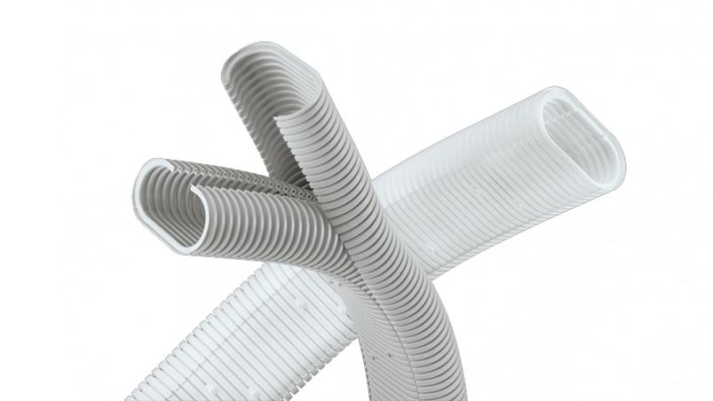 DPPS - Oval divisible corrugated conduit, PP MOD BS