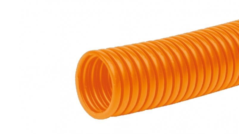FPPS-O - CCorrugated conduit in orange for marking wiring, PP MOD BS orange