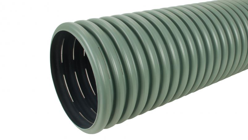 SickuPipe swale infiltration pipe
