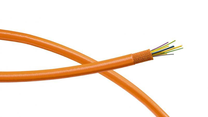 GA6 – aramidová hadice sopláštěním zPUR