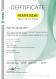 CERTIFICATE –ISO TS 22163 (en)