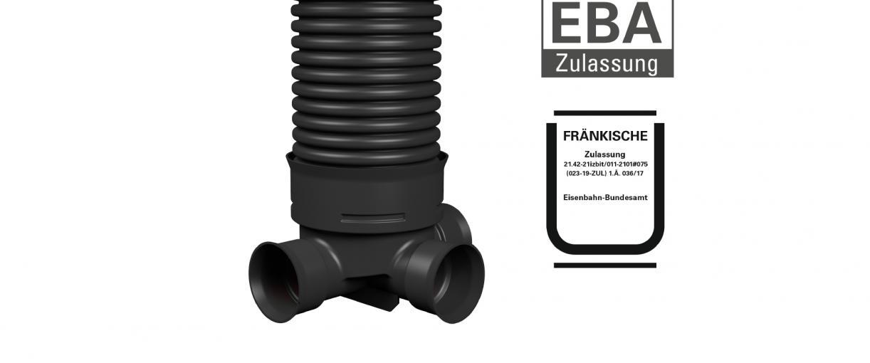 Abzweigschacht mit EBA-Zulassung