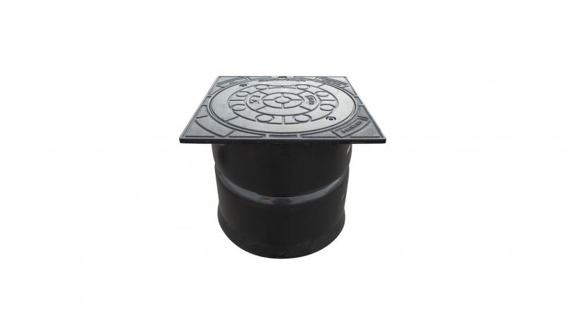 FSD-Control cast iron shaft cover, square