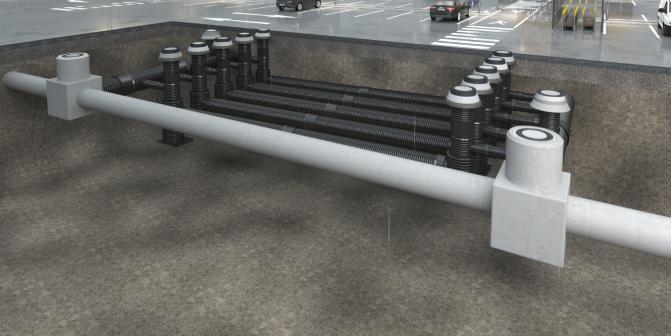 Verteilerbauwerke für Mehrfachanlagen