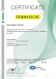 CERTIFICATE – ISO 9001 (anglais)
