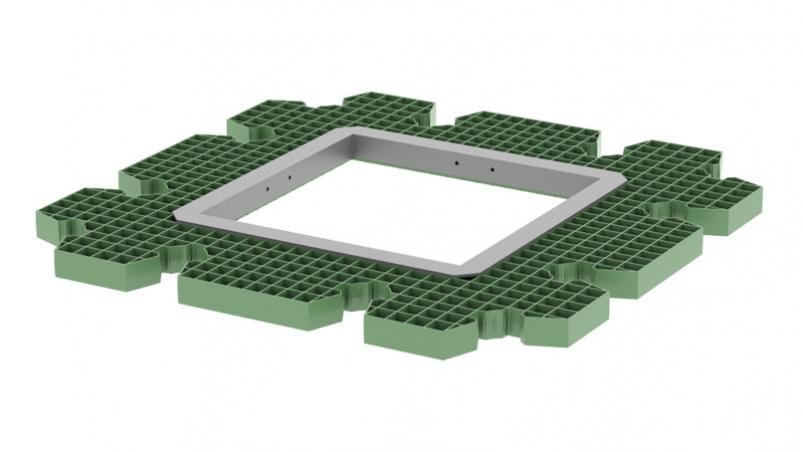 QuadroControl ST supporting grid