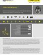 EZPA-D-NTPM (Spring) - Anschlussverschraubung Zugentlastung, gerade, NPT, Metallgewinde, EMV-Spring