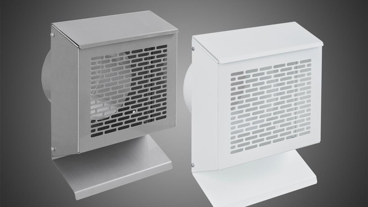 Versatile and elegant: profi-air external wall grill