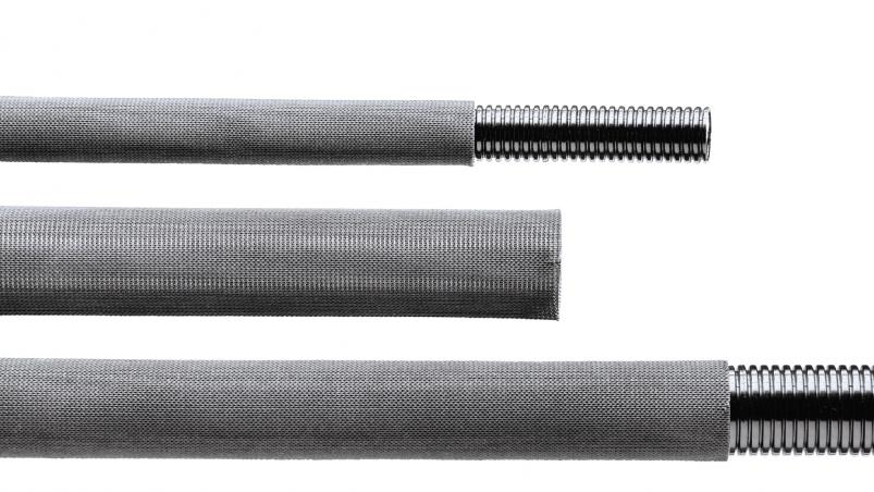 GGU - multifile knitted hose with impregnation