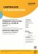 Cертификат – ISO 14001 (английский)