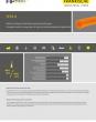 FETS-O - Wellrohr in Orange für hohe Dauertemperaturanforderungen