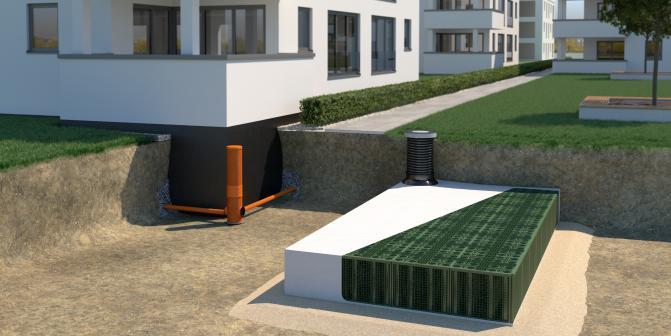 Lösungen für die Gebäudedränung