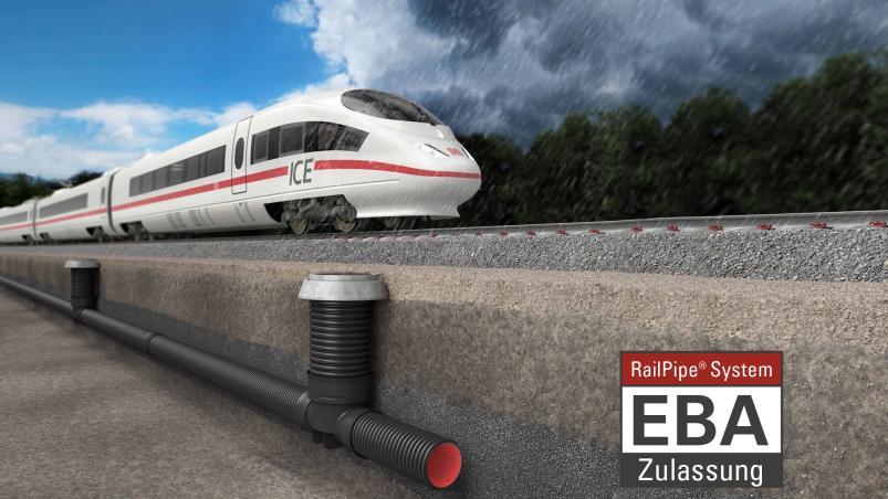 RailPipe® System mit EBA-Zulassung