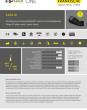 AAPA-M - Fitting 45° elbow, metric, plastic thread