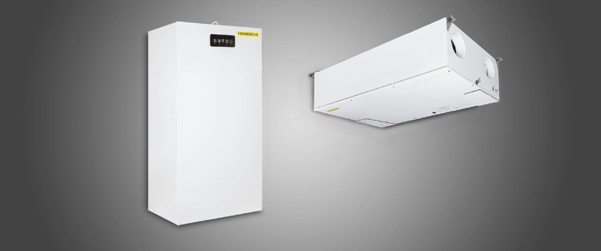 Эффективные вентиляционные установки для контролируемой вентиляции жилых помещений