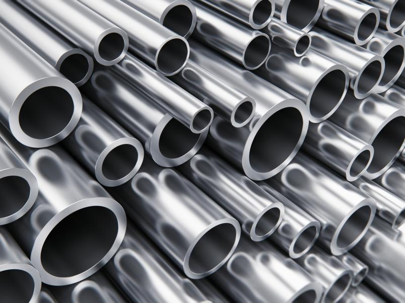 Stahl-, Aluminium-, Edelstahlrohre