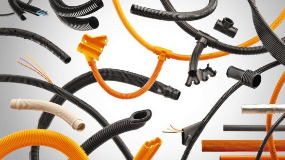 Kabelschutzsysteme für 12- und 48-Volt-Bordnetze