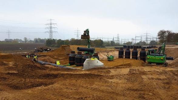 Case Study Nievenheim-Ost A57 filling and service area