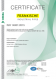 Certifikát – ISO 14001 (angličtina)