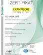 CERTIFICATE – ISO 14001 (de)